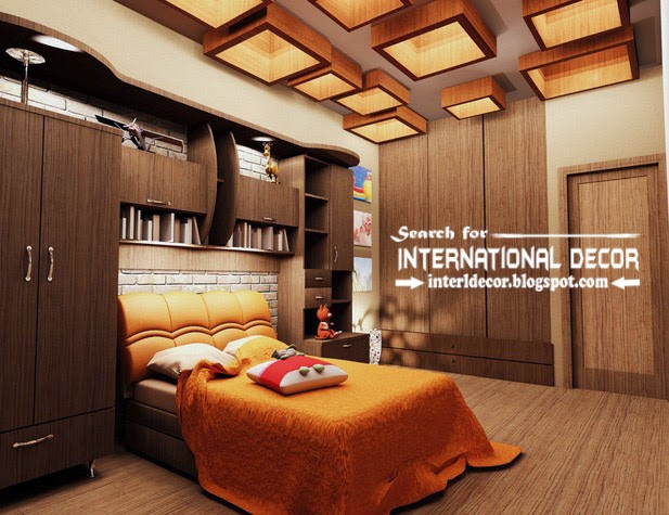 Contemporary Pop False Ceiling Designs For Bedroom 2017, Bedroom False  Ceiling