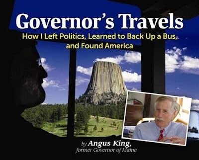 Maine ex-governor chronicles motor home travels in new book