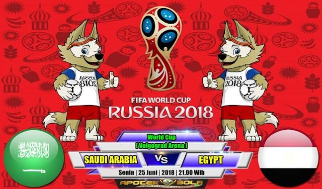 Prediksi Saudi Arabia vs Egypt 25 Juni 2018