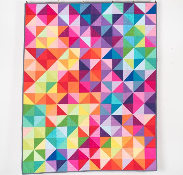 Busy Hands Quilts: Postcard From Sweden Quilt Kit {Help