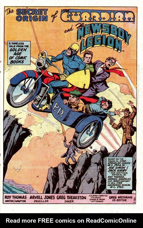 Read online Secret Origins (1986) comic -  Issue #19 - 22