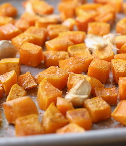 Roasted Butternut Squash recipe with Thai Sriracha Sea Salt by seasonwithspice.com