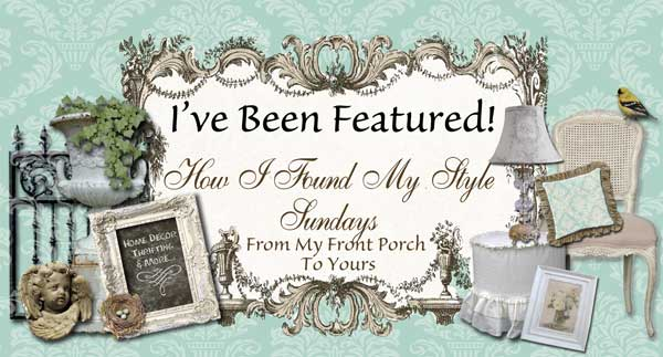 From My Front Porch To Yours- How I Found My Style Sundays- Tidbits&Twine