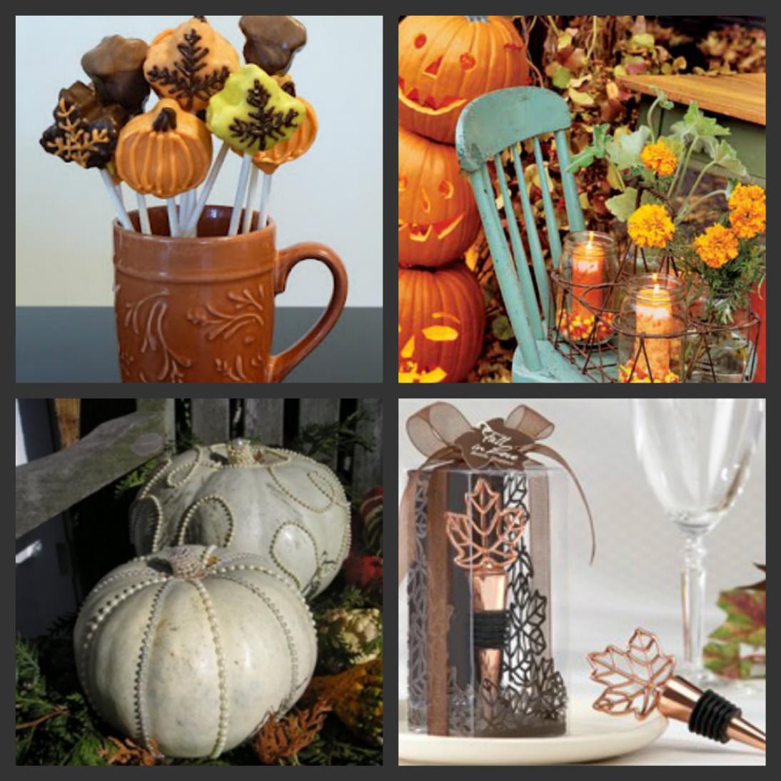 Weddings Are Fun Blog Autumn Themed Wedding Shower Ideas