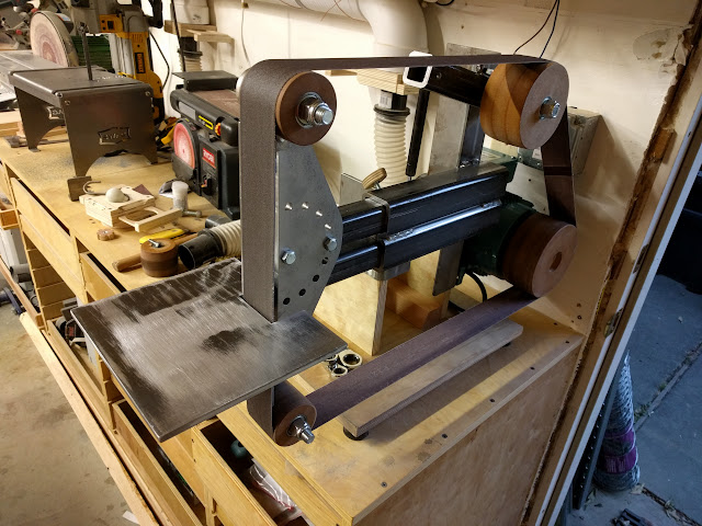 Experience Improve Make 2x72 Belt Grinder