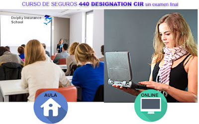 obtener la licencia de seguros 440 en español sin examen final