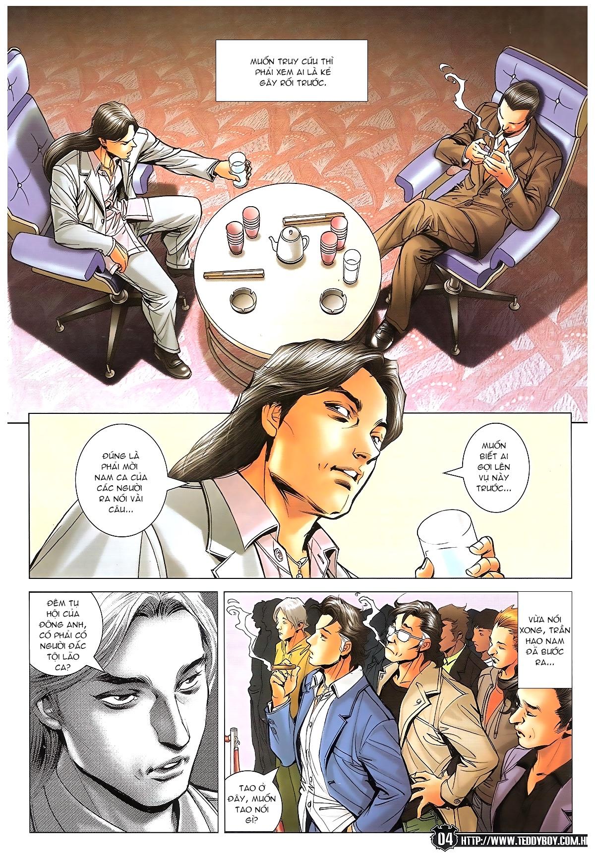 Người Trong Giang Hồ - Ngũ Hổ qui thiên - Chapter 1718: Đàm phán siêu cấp 4 - Pic 3