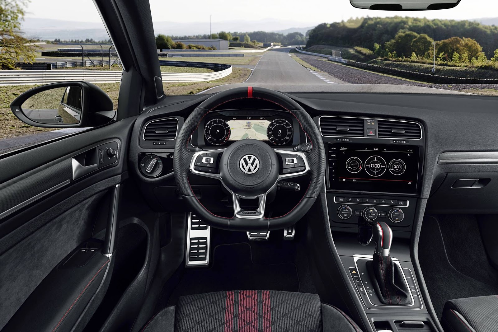 Vw Golf Gti 2019 Tcr Com 290 Cv O Canto Do Cisne Do Mk7 Car Blog Br