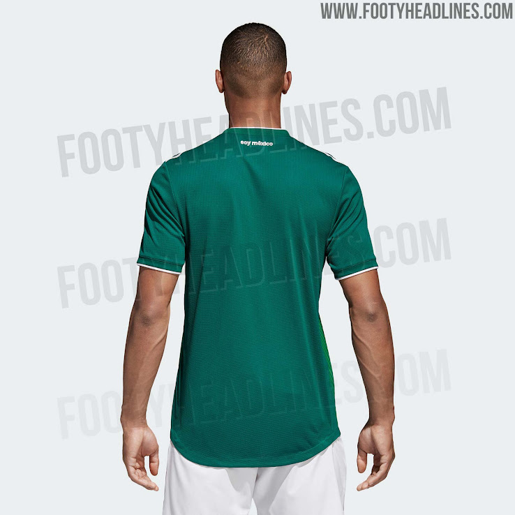 892417e012d3f Mexico 2018 World Cup Kit Revealed - Footy Headlines