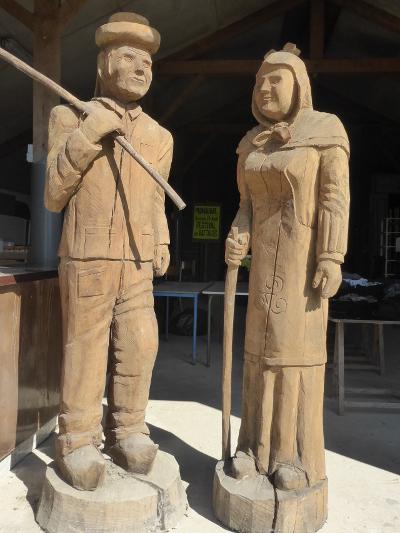 bretons en bois