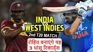 India vs West Indies 2nd T20 2018