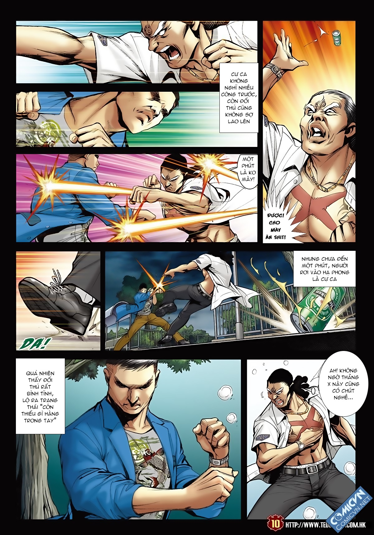 Người Trong Giang Hồ - Chapter 1555: Quá khứ khó quên 2 - Pic 9