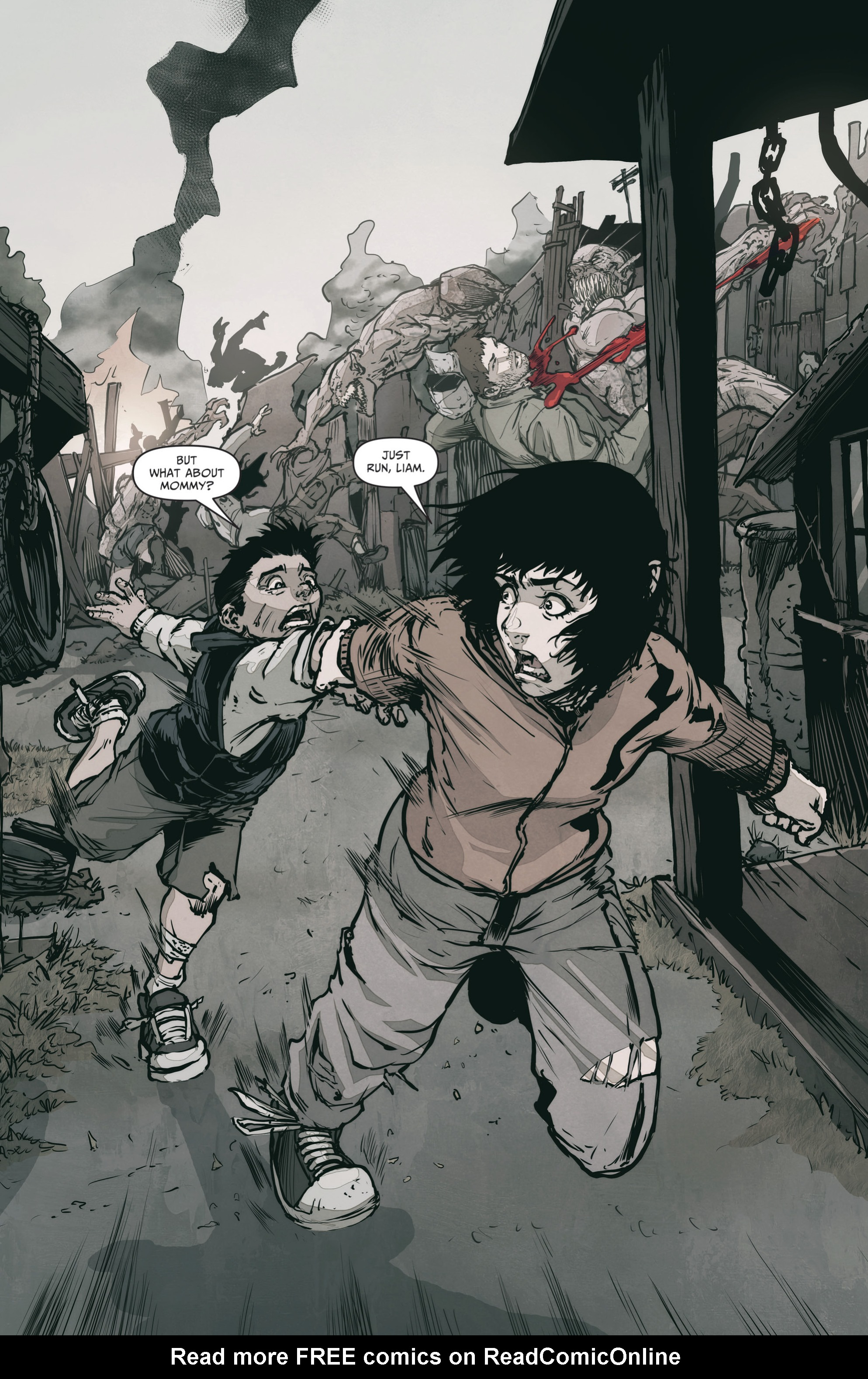 Read online The Courier: From the Ashes comic -  Issue #3 - 3