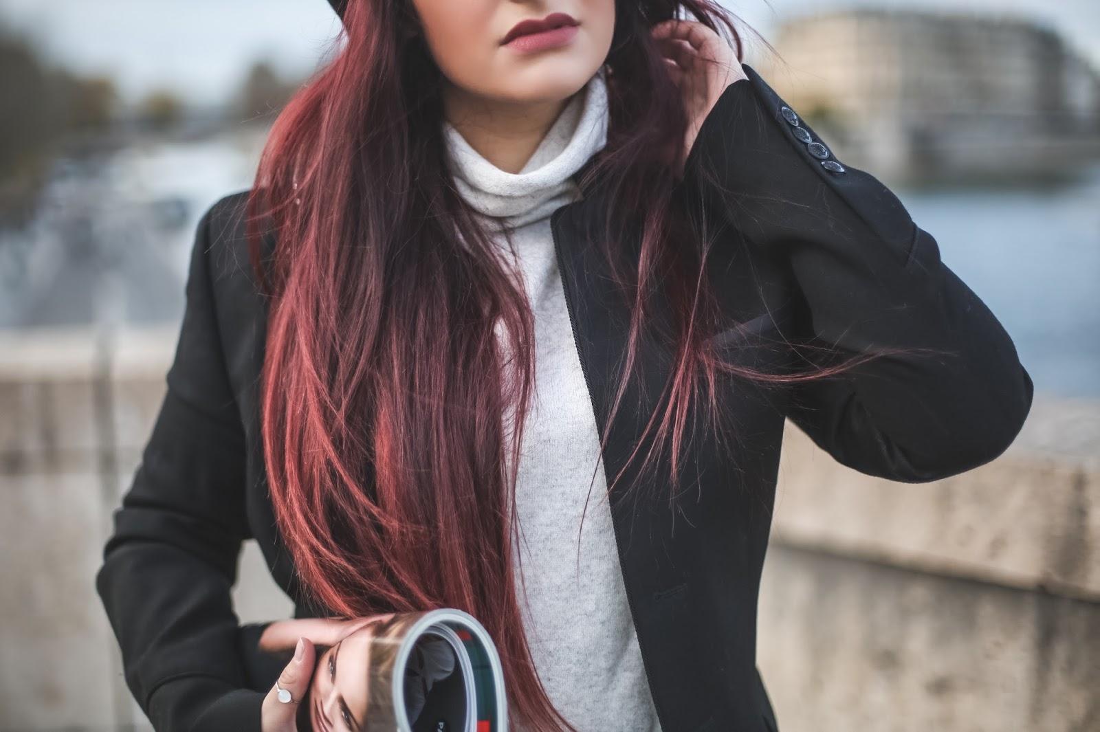 cheveux rouges blog beauté