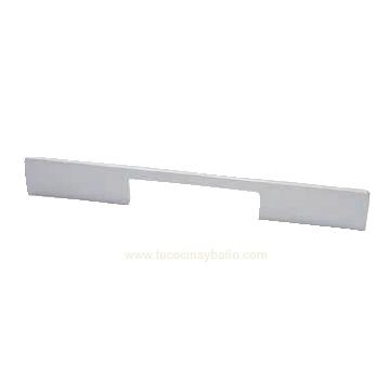 Tirador cocina blanco negro moderno Aluminio Anonizado
