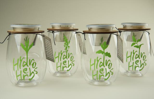 Hydro Herbs Heat Resistance Label Designed By Rachel Bachmeier