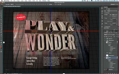 Fitur 3D Photoshop CS6