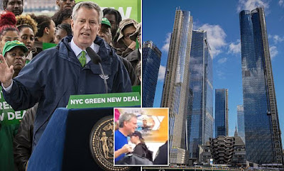 The mayor of New York City wants to ban glass skyscrapers