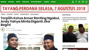 Tayang Perdana 7 Agustus 2018, Ini Sejarah dan Jeroan Website Ansorngabul.or.id