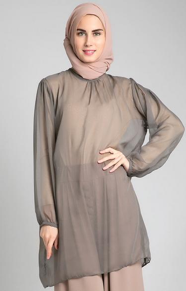 Contoh Desain Baju Muslim Wanita Terkini