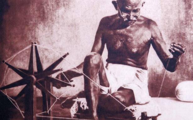 Gandhi Jayanti: KVIC hands over 'wooden charkha' to India's