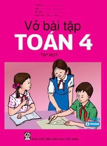 Vở Bài Tập Toán Lớp 4: Tập 1 - Nhiều Tác Giả