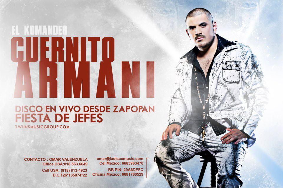 El komander cuernito armani en vivo zapopan 2012 blog zona mix