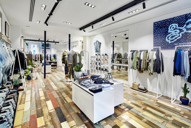 Green Pear Diaries, interiorismo, retail, tienda, DENHAM, La Haya, Holanda