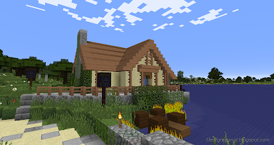 minecraft hobbiton build sandyman's mill bridge