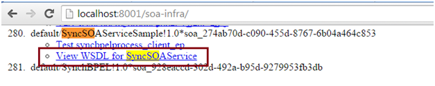OSB to SOA Using SOA Direct Service URL