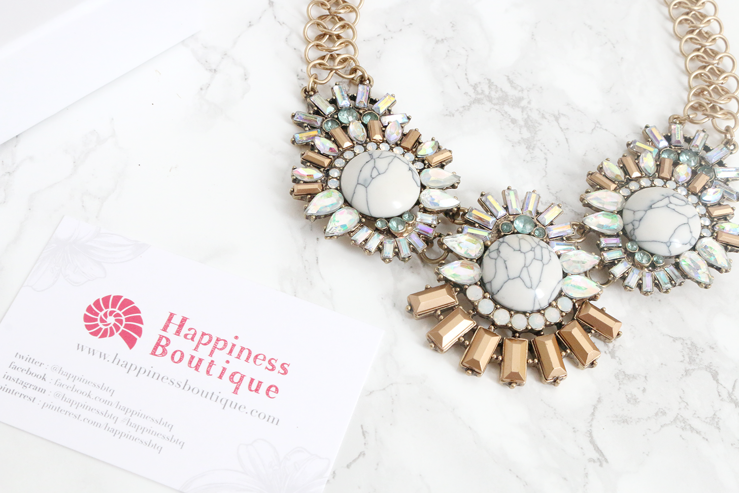 Happiness Boutique Statement Necklace