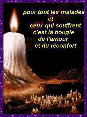 Citations et Panneaux Facebook à partager: Bougies et rubans pour les ...