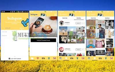 Instagram Mod Spongebob APK Terbaru