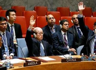 Δεν είναι ακόμη σαφές εάν η Ρωσία και η Κίνα θα ψηφίσουν υπέρ του σχεδίου αυτού