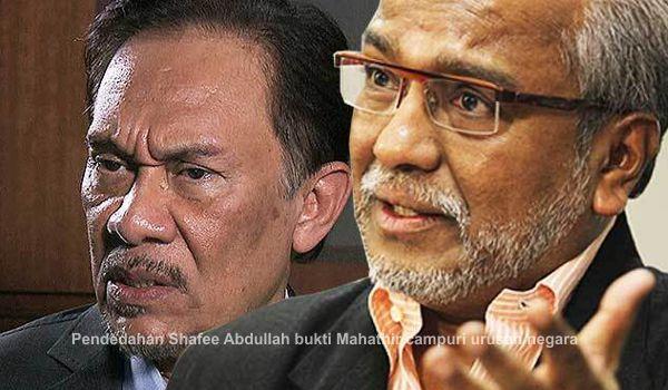 Pendedahan Shafee Abdullah bukti Mahathir campuri urusan negara