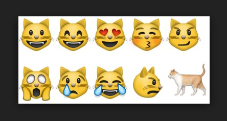 Facebook Cat Emoji