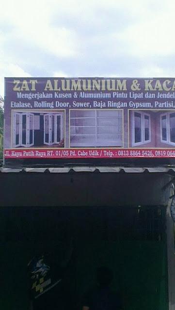 Toko Kusen Aluminium dan Kaca - Blog Mas Hendra