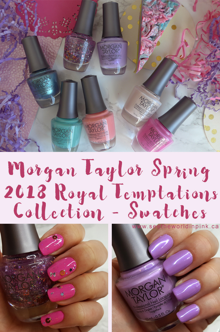 Morgan Taylor Royal Temptations collection