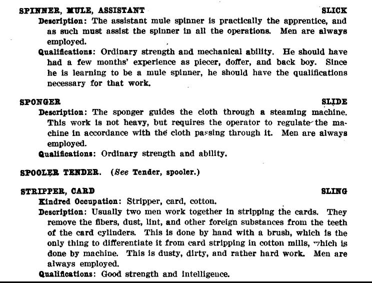 Qualification system for trades and labor occupations