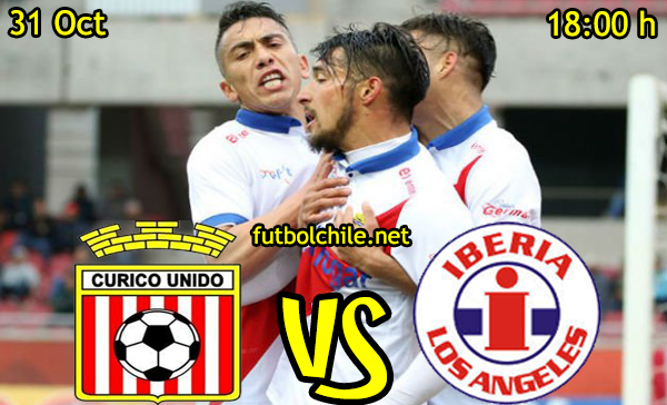 Ver stream hd youtube facebook movil android ios iphone table ipad windows mac linux resultado en vivo, online:  Curicó Unido vs Deportes Iberia