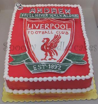 Snooky Doodle Cakes Liverpool Logo Cake