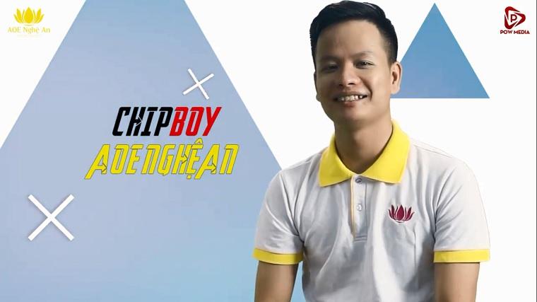 Chipboy đầu quân cho AoE Nghệ An