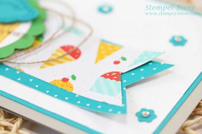 Worte, die gut tun; Stampin Up Ronald mc donald; Geburtstagskarte; Stampin Up Katalog 2015; Stampin Up Baumstanze; Stampin Up Elementstanze Baum; Stempel-Biene