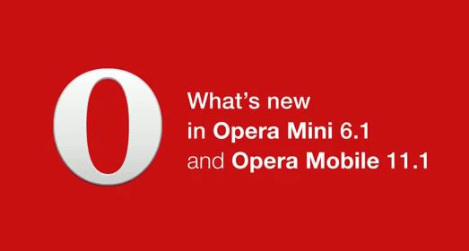 Opera Mobile 11.1 for Android and S60