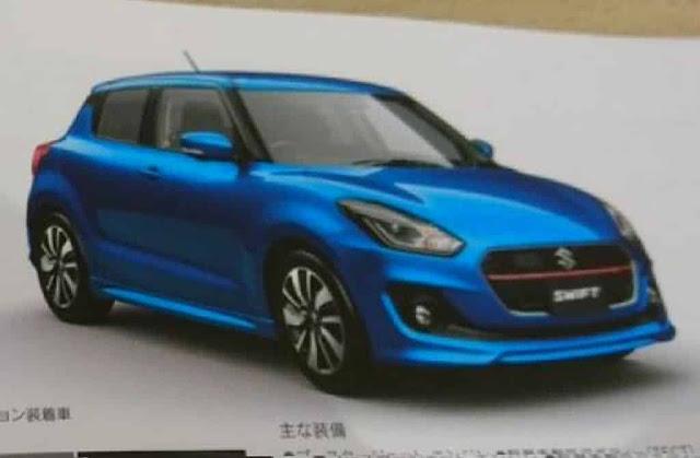 Suzuki Swift 2017: informações e fotos vazadas