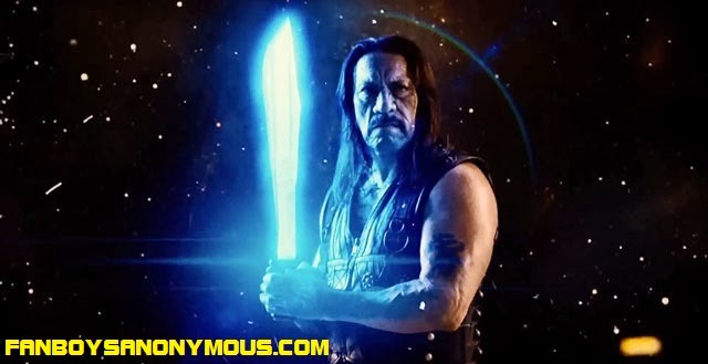 Danny Trejo Machete Kills Again In Space lightsabre machete