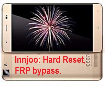 Innjoo Desire 5 Google account reser and FRP Bypass 100% working