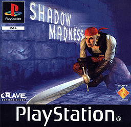 Shadow Madness - PSX - Portada