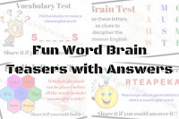 Fun Word Brain Teasers with Answers to Challenge your Mind