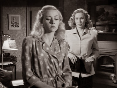 Gloria Grahame, Jacqueline White - Crossfire (1947)